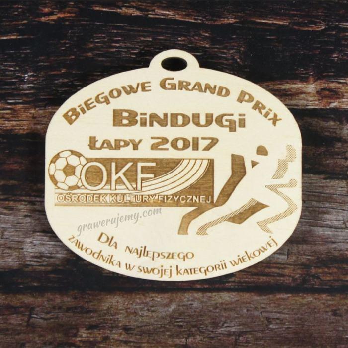Medal drewniany 113. Biegowe Grand Prix