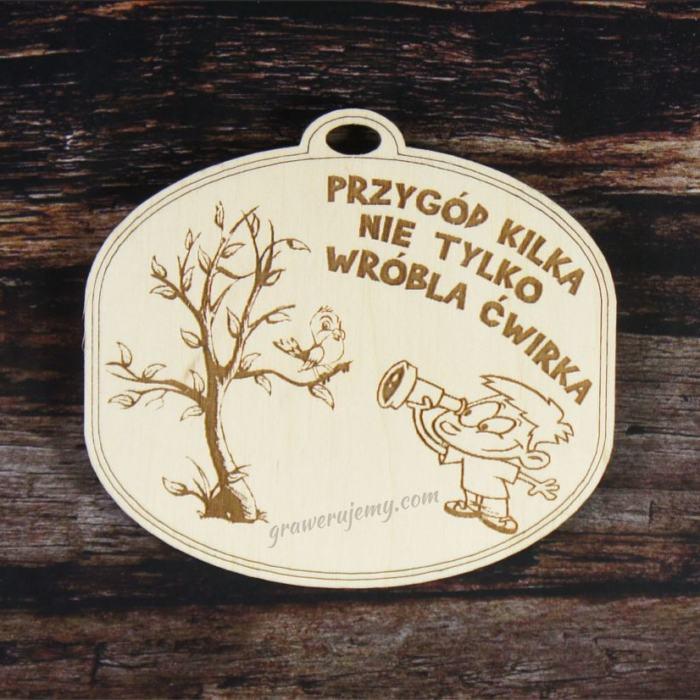 Medal drewniany 129. Medale dla dzieci