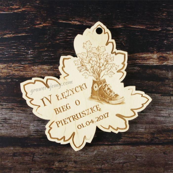 Medal drewniany 149. Bieg o pietruszkę