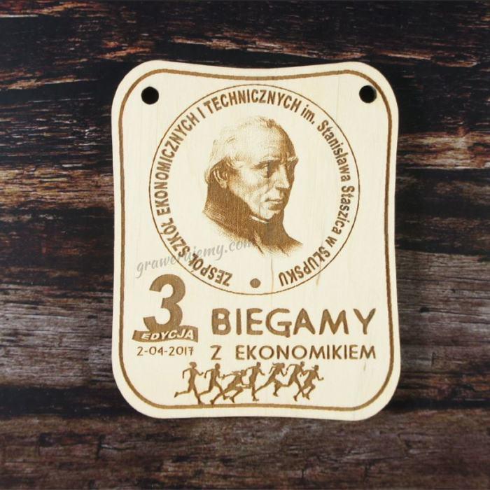 Medal drewniany 157. Biegamy z ekonomikiem