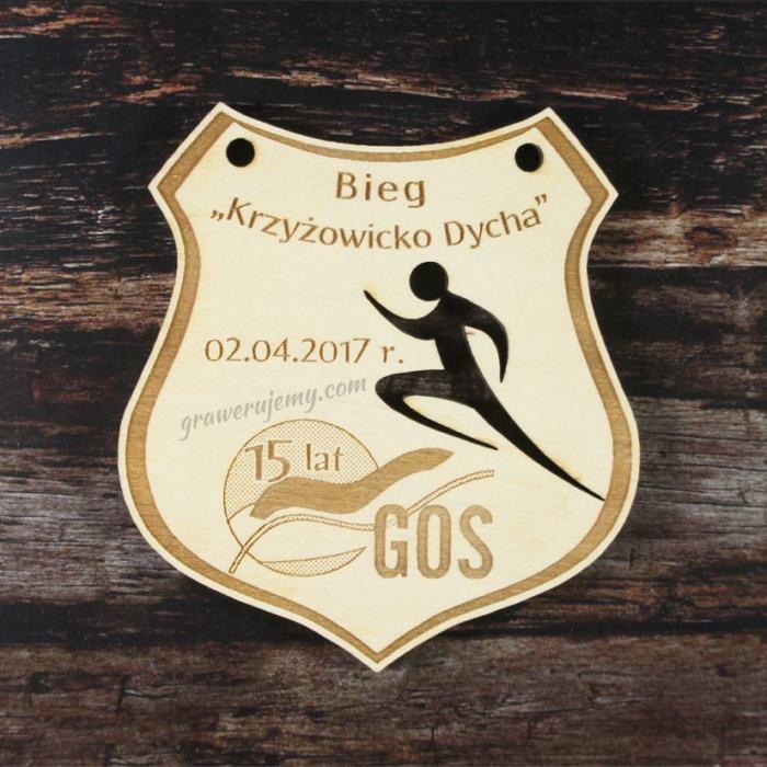Medal drewniany 164 - Krzyżowicko Dycha