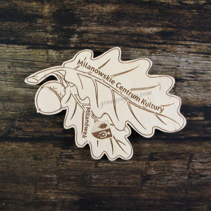 Medal drewniany 194 - Centrum Kultury