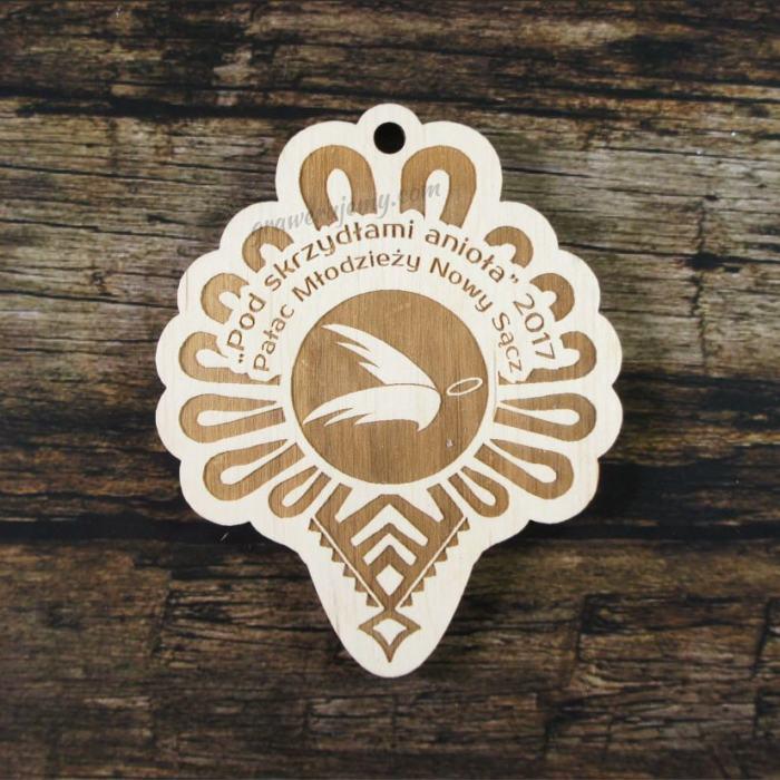 Medal drewniany 216 - parzenica