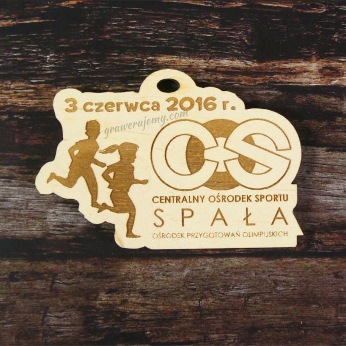 Medal drewniany Ośrodek Przygotowań Olimpijskich