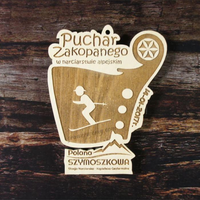 Medal drewniany 97. Puchar Zakopanego