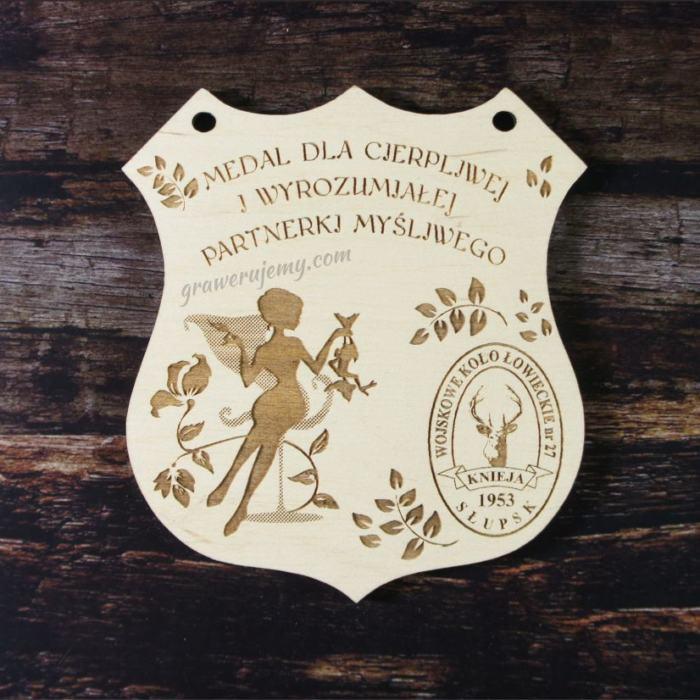 Medal drewniany 99. Koło łowieckie