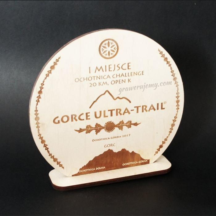 Statuetka Puchar drewniany 59 Ultra trail