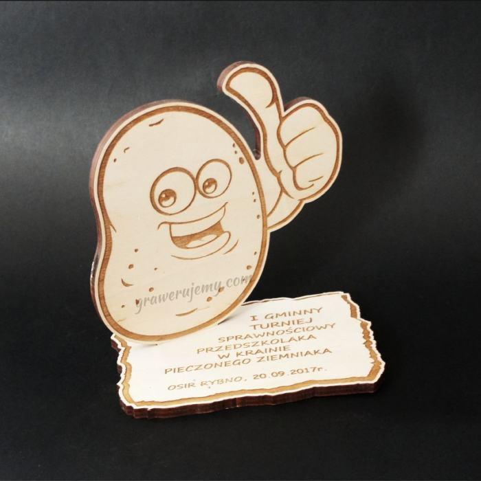 Statuetka Puchar drewniany 64 w Krainie pieczonego ziemniaka