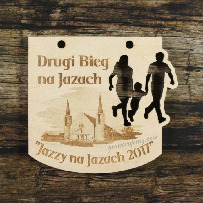 Medal drewniany 271 Bieg na Jazach