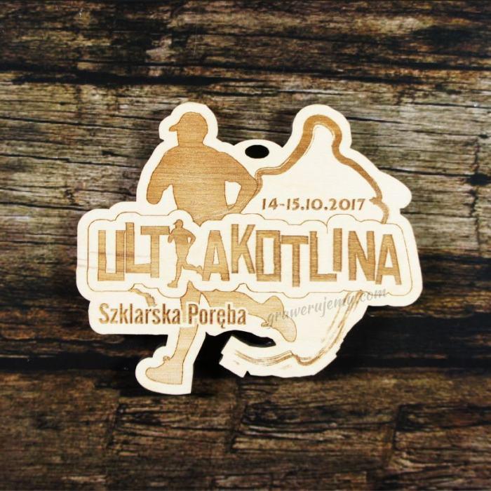 Medal drewniany 320 - Ultrakotlina