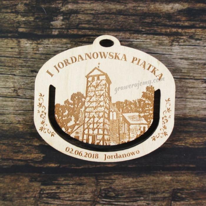 Medal drewniany 341 Jordanowska Piątka