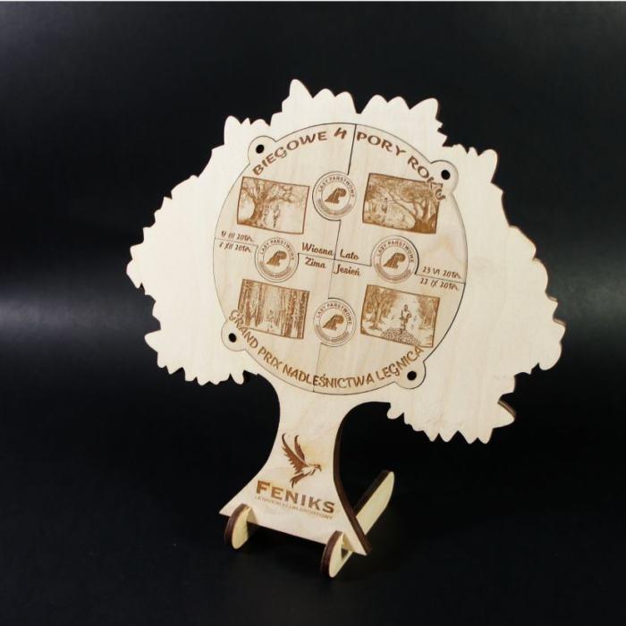 Medale puzzle z podstawką