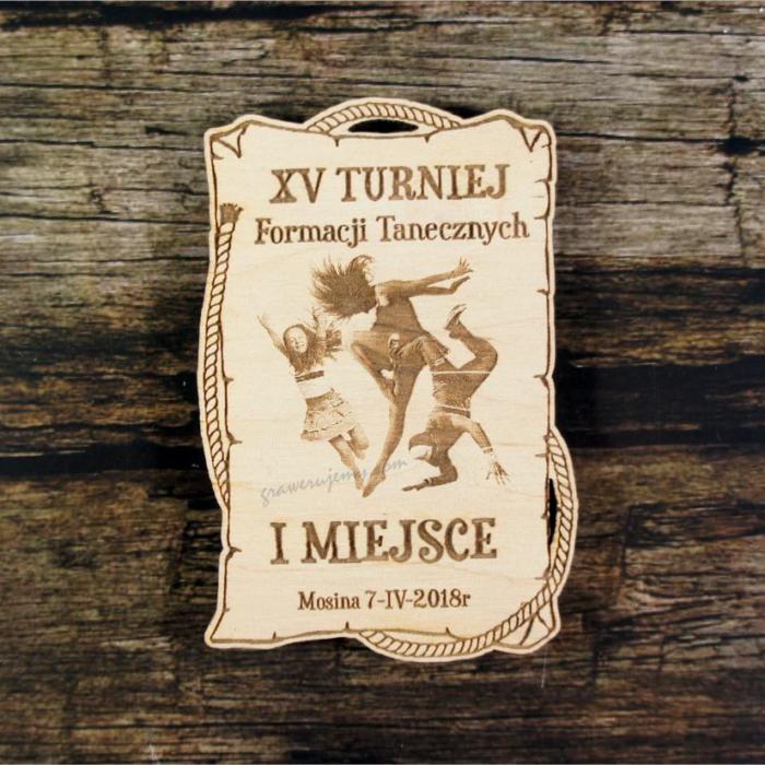 Medal drewniany 394 Turniej formacji towrzyskich