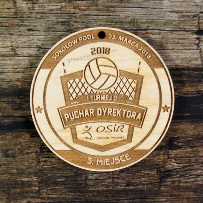 Medal drewniany 422 Turniej siakówki